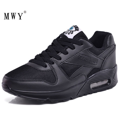 MWY Comfortable Breathable Mesh Sneaker Shoes Women Lace Up Ladies Casual Shoes Zapatillas Mujer Plataforma Flat Women Shoes Karachi