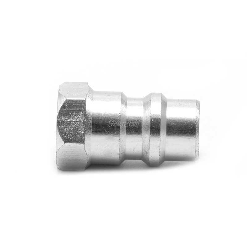 R12 R22 R502 винт R134A быстрое преобразование клапан-адаптер 1/4 ''до 8v1 нить челнока