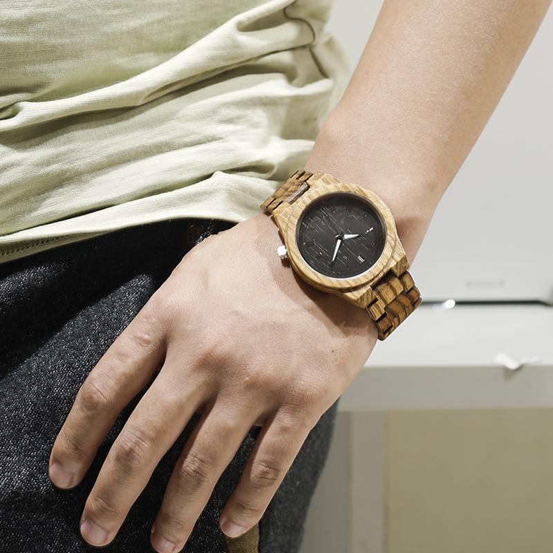 BOBO BIRD Wood Strap Wristwatch Wooden Strap Quartz Watch Gifts relogio masculino 2017 (18)