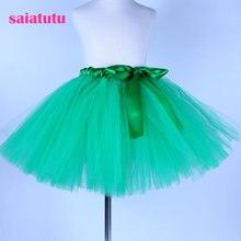 c1e107062c81b 2019 NOUVEAU vert tulle enfant enfants bébé costume robe de bal partie de  danse de mariage courtes pettiskirt tutu fille enfants.