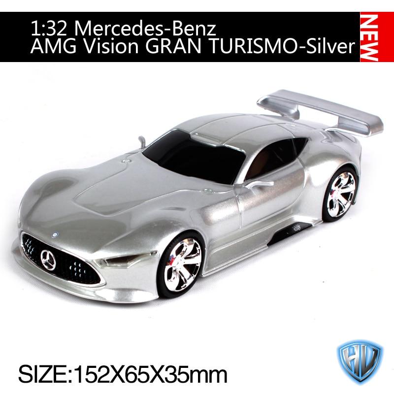 maisto auto modelo 1:32 Mercedes-Benz Vision gran turismo rojo