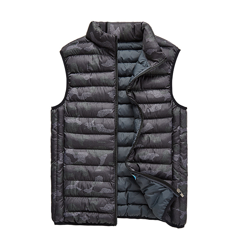 9ca87c1d2330c Men's Camouflage Vest Winter Men Tactical Jacket Sleeveless Casual Male  Coats Camo Waistcoat Slim Fit Safari Clothing