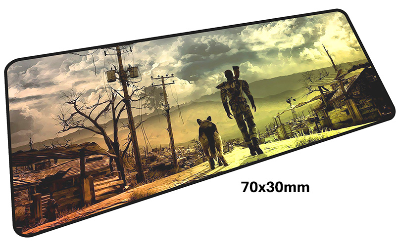 fallout mouse pad gamer 700x300mm notbook mouse mat large gaming mousepad large Customized pad mouse PC desk padmouse