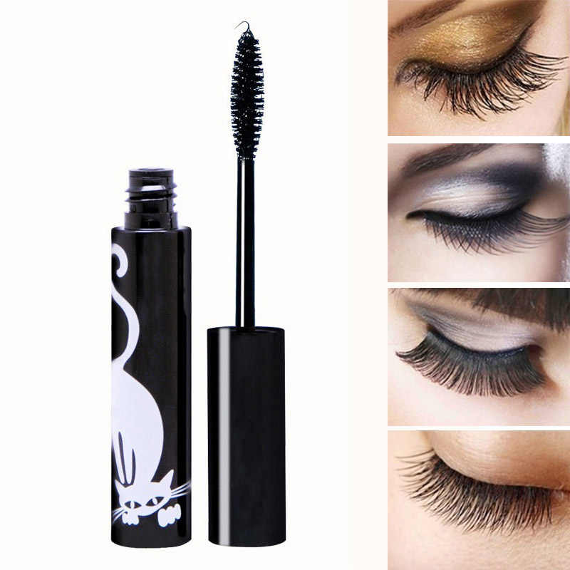 caaa7121a49 2018 New Hot 3D Thick Natural Eyelash Extension Volume Lengthening Eye Mascara  Curling Black Waterproof Lash