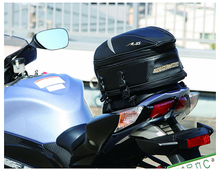 Free shipping new RR9014 tail bag motorcycle rear seat bag / car tail bag / bags / send rain cover for free/ Black 18.5 liters