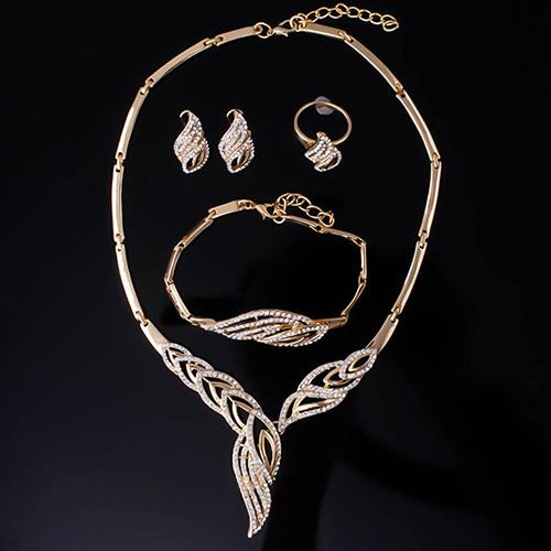 Rhinestone Jewelry Set