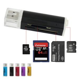 USB 2,0 Micro SD кардридер, внешний TF флэш-карта памяти адаптер MCC Многофункциональный кардридер Бесплатная доставка