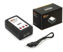 B3 Lipo battery charger AC 100~240V RC airplane Li-po battery Balance Charger For 7.4-11.1V 2S-3S(China)
