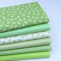 50x160cm New Arrival Green Dot Stripe Grid Series 100 Cotton Fabric Patchwork Fabric Bundle Tilda Fabric