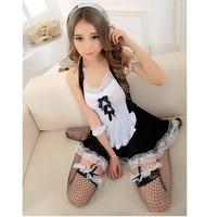 XS S M L XL Plus Size High Qualit Sexy French Maid Costume Halloween Dress Club