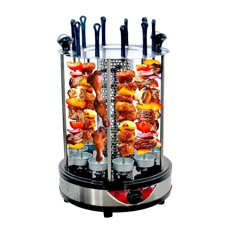 Da cucina di pesce coreano per uso domestico di cottura kebab cottura elettrico pan girarrosto barbecue grill del forno bakeware macchina barbecue fornellino