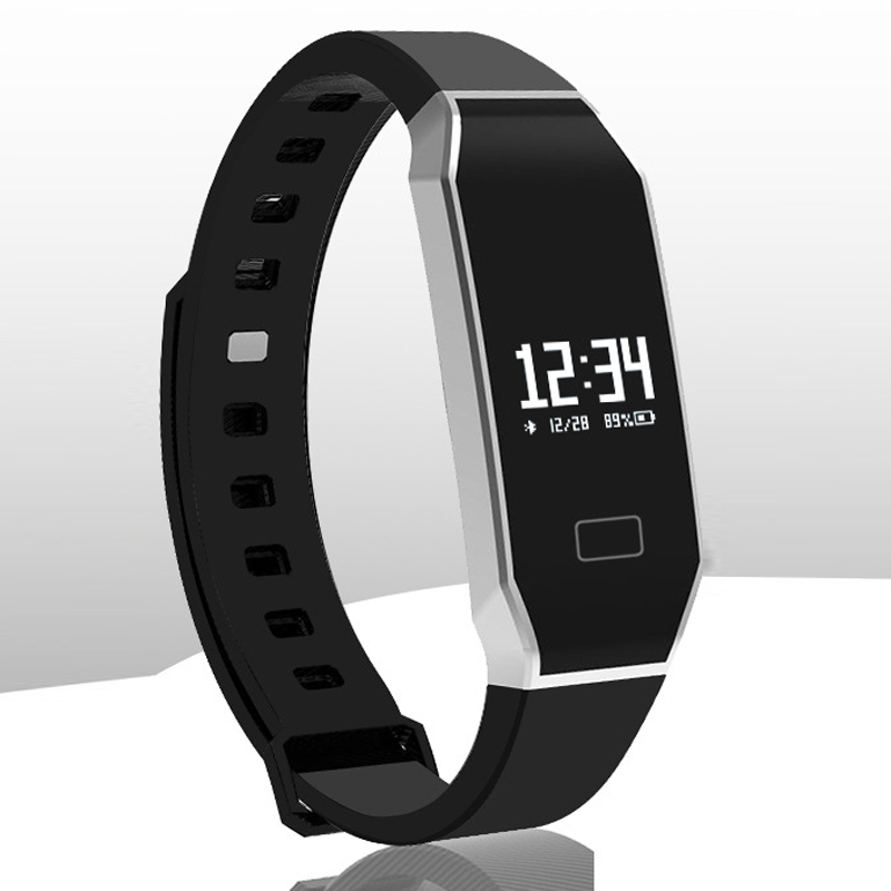 ck11 Smart Band Fitness Tracker Blood Pressure Heart Rate Monitor Bluetooth 4.0 Smart Wristabands for Android iOS