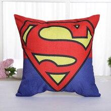 Superman Logo Cotton Pillow Case