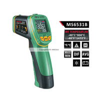Mastech MS6531A Color Display Infrared Thermometer 40 800 Degree