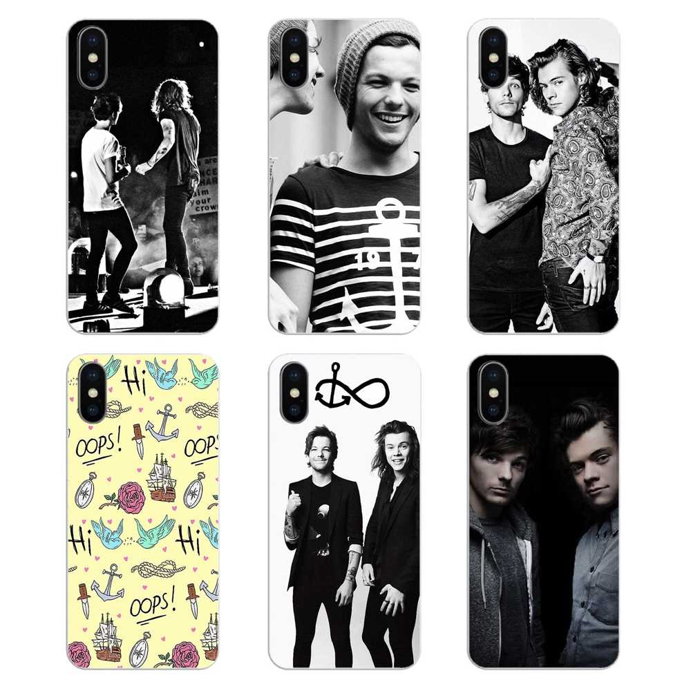 Harry Styles dos one direction Larry Stylinson Macio Capa Shell Para Huawei Honor 8 8C 8X9 10 7A 7C companheiro 10 20 Lite Pro P Smart Plus