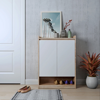 Happy Home Fashion Solid Wood Shoe Cabinets Floor Standing Storage Cabinet Shoe Rack organizers Home Furniture