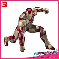 Original Bandai Tamashii Nations S H Figuarts SHF Iron Man 3 Action Figure Iron Man Mark