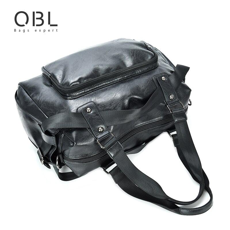 qibolu bolsas sacolas de homem Size : 46*30*17cm