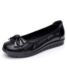 цены Spring Autumn Women Shoes Cow Leather Loafers Flats Woman Boat Shoes Slip-on Low Cut Ladies Non-slip Fashion Casual High Quality