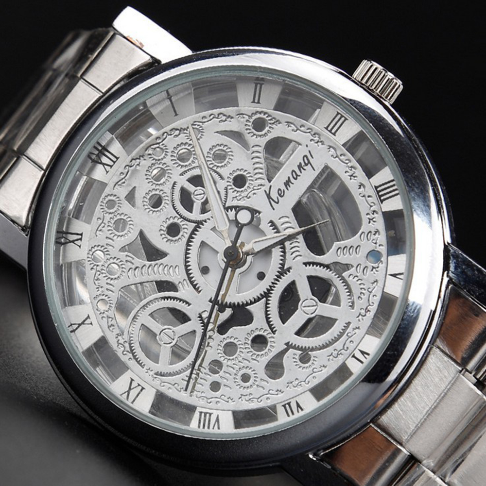 skeleton watches brands best watchess 2017 new famous stainless steel men skeleton watch brand