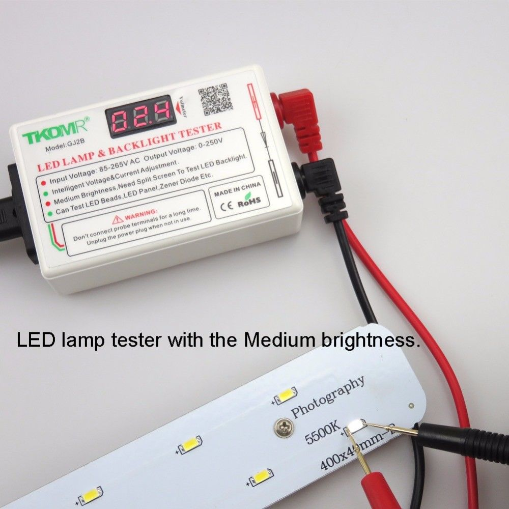 TKDMR LED Lamp Bead and Backlight Tester Need to Disassemble LCD Screen All LED Lights Repair Test Output 0-260V