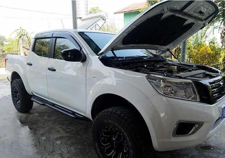 Автомобильный гидравлический пружинный шток модифицированный двигатель крышка гидравлический шток опорный стержень для NISSAN NAVARA NP300 2005-2019