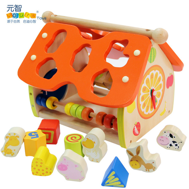 Yours shape blocks intelligence building blocks child diy toy