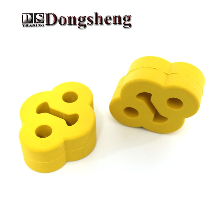 2PCS Car remoulded car general exhaust pipe hanging shackle Hanging plastic  hanging exhaust ear - us566 dc6e209aa451d