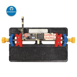 Image 2 - WL גבוהה טמפרטורת טלפון PCB לוח מחזיק נייד טלפון הלחמה תיקון מתקן עבור iPhone סמסונג האם תיקון מחזיק