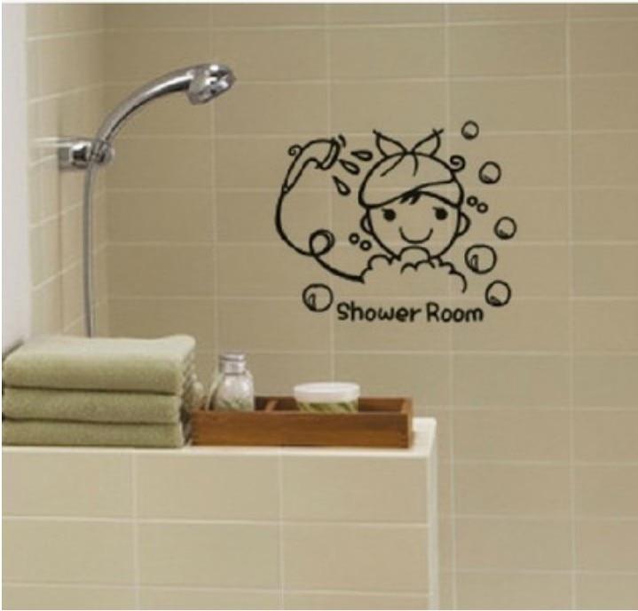 baby shower adesivi murali stanza da bagno doccia accessori decorativi adesivo bambini nursery room piastrelle di