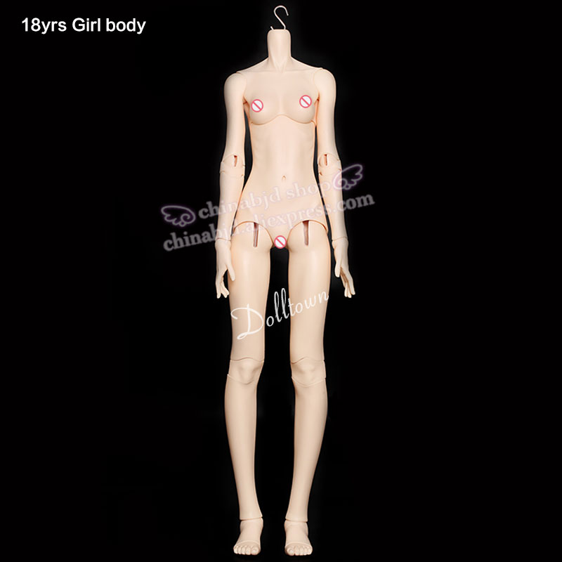 Dolltown 18yrs Girl Body Only For 1 3 BJD SD Doll Resin Material Toy Girls Britbday