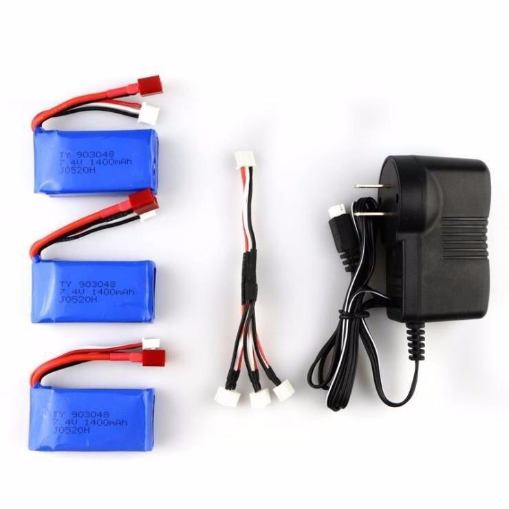 Original Hot sell 7.4V 1400mAh Lipo Battery for A959-b A969-b A979-b K929-B battery  spare parts