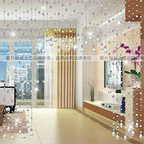 Bead Curtain Crystal Entranceway Soft Decoration Finished