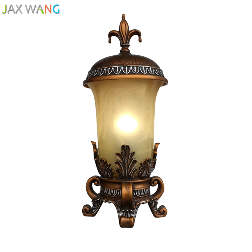 JW_American Country European Retro Tripod Table Lamps For