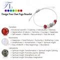 A & n nova chegada pulseira de cura natural labradorite moonstone ágata vermelha linda yoga pulseiras design simples pulseiras artesanais