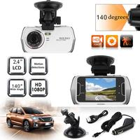 Gizcam 2.4 HD LCD Display 5MP 1080P 120 Degrees Wide Angle Support Night Vision Dash Cam Video Recorder Consumer Camcorder Gift