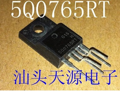 20pcs/lot KA5Q0765RTH KA5Q0765 5Q0765 0765 5Q0765RT IC FPS SWITCH CTV TO-220F-5