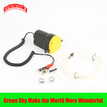 hot selling vehicle mounted kits clip type electric self-priming 12V/24V oil suction