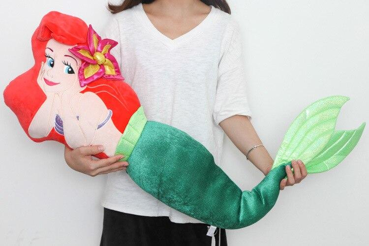Grand 1 pièces 120 cm la petite sirène Ariel princesse en peluche jouet mignon doux trucs poupée oreiller coussin enfants filles cadeaux d'anniversaire - 3