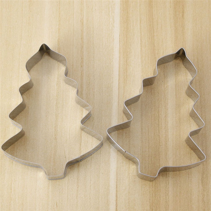 Baking & Pastry Tools Official Website Free Shipping Aluminium Mold Christmas Tree Shaped Tools Cookie Cake Mold Jelly Pastry Baking Cutter Mould Tool Fixing Prices According To Quality Of Products