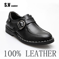Leather Men Shoes Casual Sapatos Designer Mens shoes Slip On  Sneakers Summer Breathable Shoe Zapatos Schoenen SV Comfort