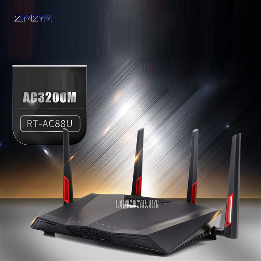 High quality for RT-AC88U Wireless Dualband AC3100 WLAN Router working well 3167Mbps Tra ...