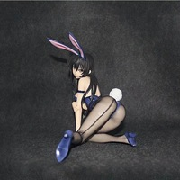To Love Action Figure Anime Model Kotegawa Yui Sexy Bunny Girl Dolls Decoration Collection Figurine Christmas Toys Gifts 26.5cm