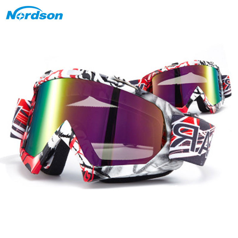 Nordson Motorcycle Goggles ATV Off Road Dirt Bike DustProof Racing Motorcycle Glasses Anti Wind Eyewear MX Moto Goggles все цены