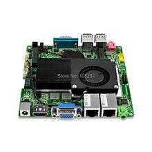 12*12CM QOTOM Nano Itx Motherboard Q1037US with Celeron Processor 1037u Onboard, Dual core 1.8Ghz, Dual lan port