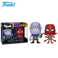 Official Original FUNKO POP Marvel Six Arm Spider Man &Miba! Action Figure Doll Collection Model Toys For Friend Origina Box