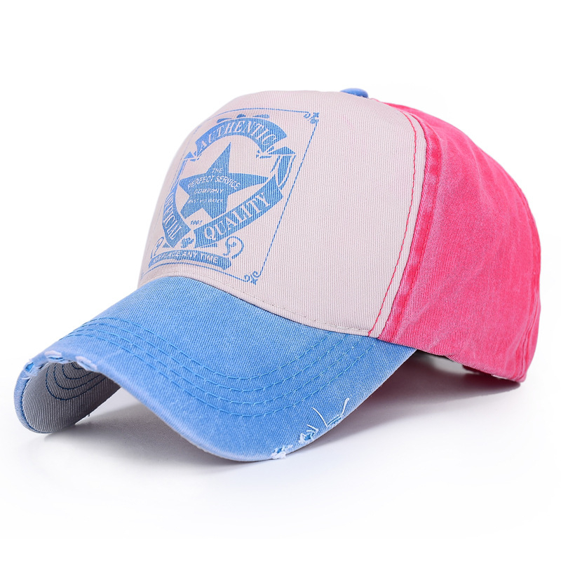 Lovers Baseball Hats Fashion Star Making-Replica Denim Cap Snapback Caps Spear Print Men Women Hip Hop Casual Caps Sun Shade Hat стоимость