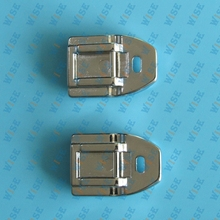 2 PCS Concealed Invisible Zipper Presser Foot for Brother ,SINGER # CY-7306A