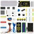 Frete grátis! novo! Keyestuio Básico para Iniciantes Aprendizagem Kit para Arduino Com MEGA2560 1602 R3 LCD