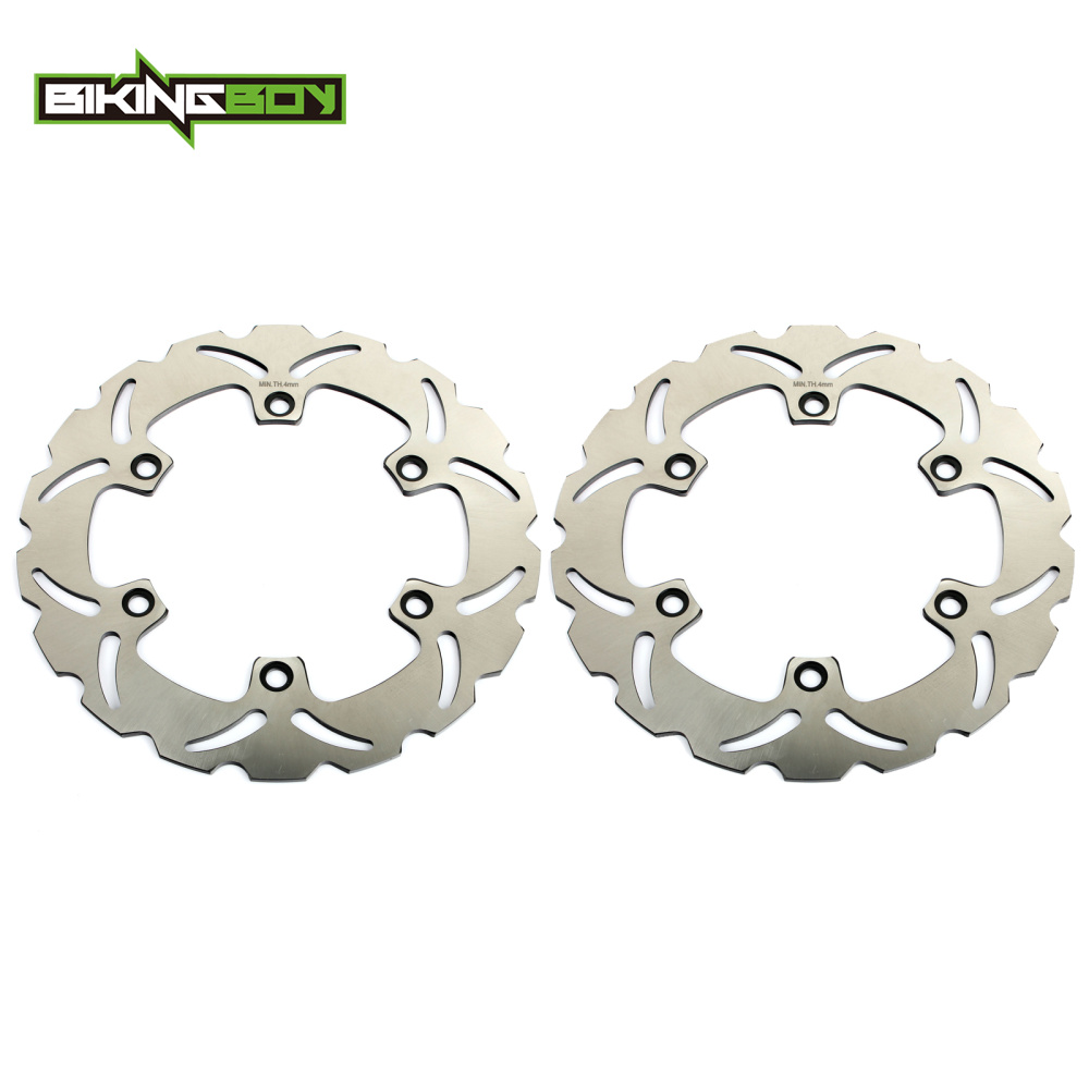 BIKINGBOY Front Brake Discs Disks Rotors For HONDA CBR600F 87-94 CBR 600 F SuperSport 91-94 CBR 500 600 <font><b>750</b></font> <font><b>VFR</b></font> 400 R Z VFR750F image